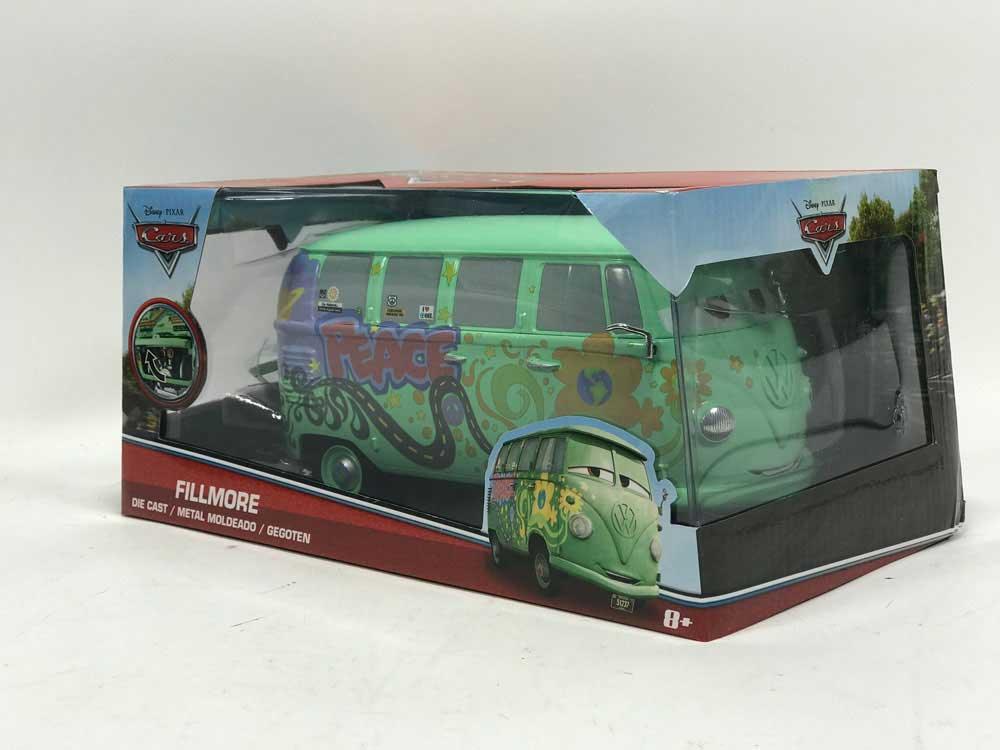 PIXAR CARS FILLMORE 1/24 Diecast Model Car By Jada Toys