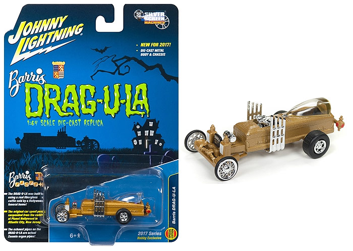Munsters Dragula George Barris 1/64 Scale Diecast Replica
