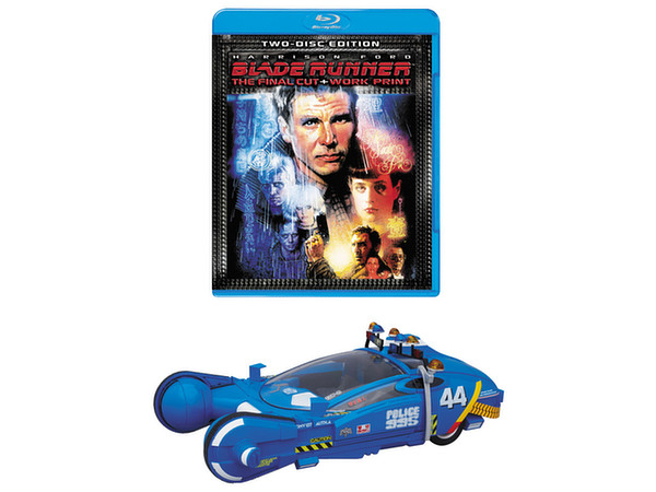 "Blade Runner 10"" Police Spinner Collector's Box with Blu-ray"