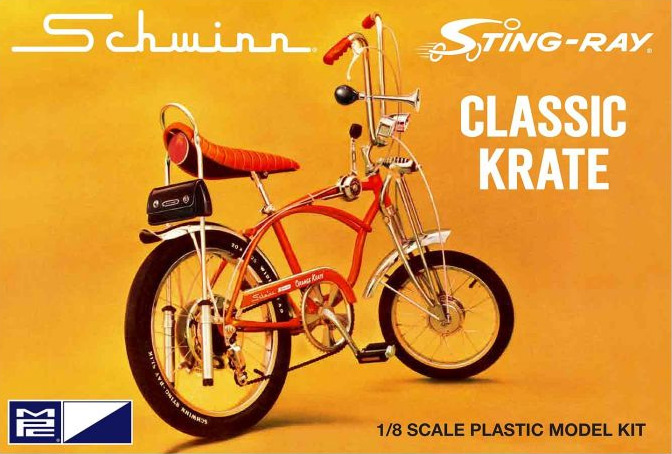 Schwinn Sting Ray Classic Krate 5 Speed Bicycle 1/8 Scale Model Kit