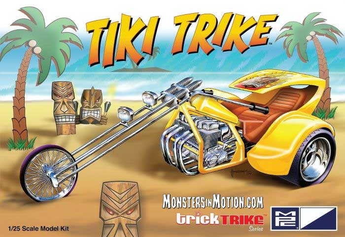 Tiki Trike 1/25 Scale Model Kit Trick Trike Series by MPC
