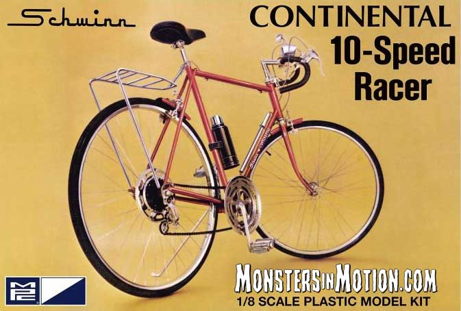 Schwinn Continental 10-Speed Racer Bicycle Model Kit by MPC