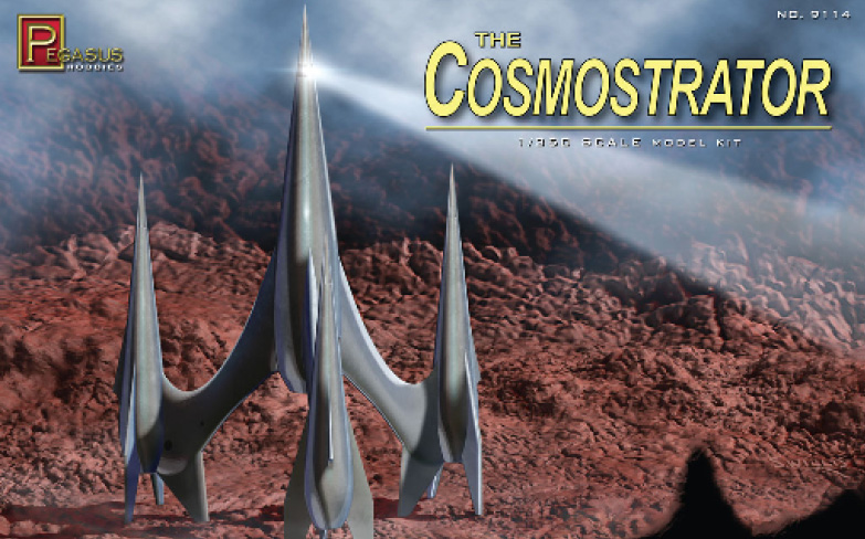 First Spaceship on Venus Cosmostrator 1/350 Scale Model Kit