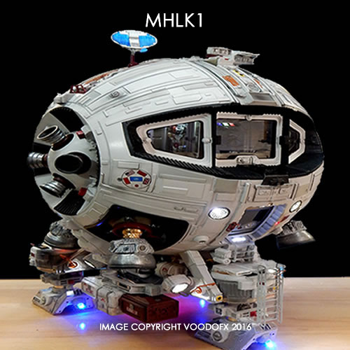 Mars Lunar Explorer Vehicle M.L.E.V.-5 Moon Hopper 1/32 Scale Lighting Kit