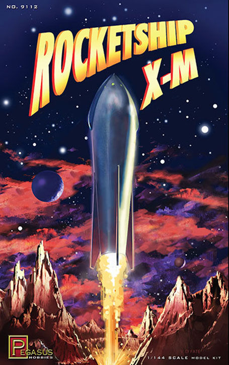 Rocketship X-M 1950 1/144 Scale Model Kit