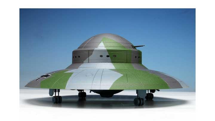 Haunebu II German WWII UFO Fu Fighter 1/144 Scale Model Kit Haunebu