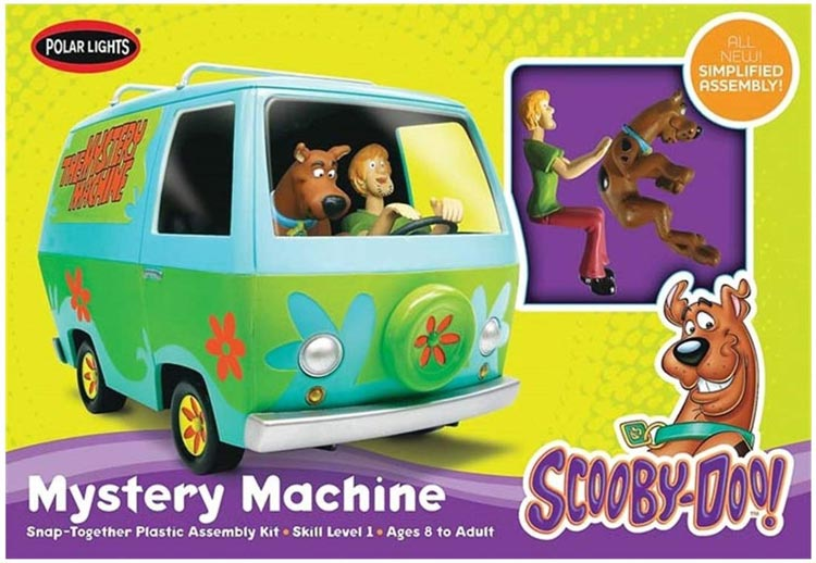 Scooby-Doo Mystery Machine 1/25 Plastic Model Kit