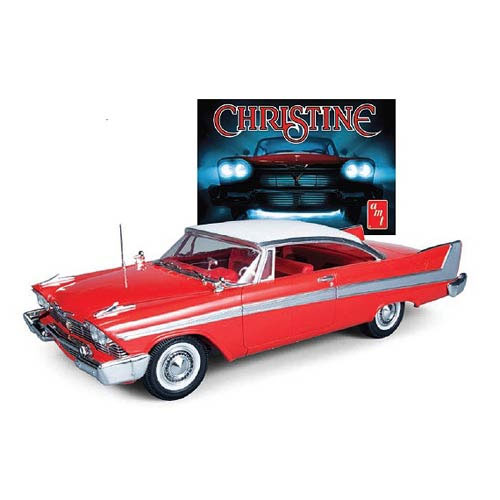 Christine 1958 Plymouth Model Kit-Stephen King