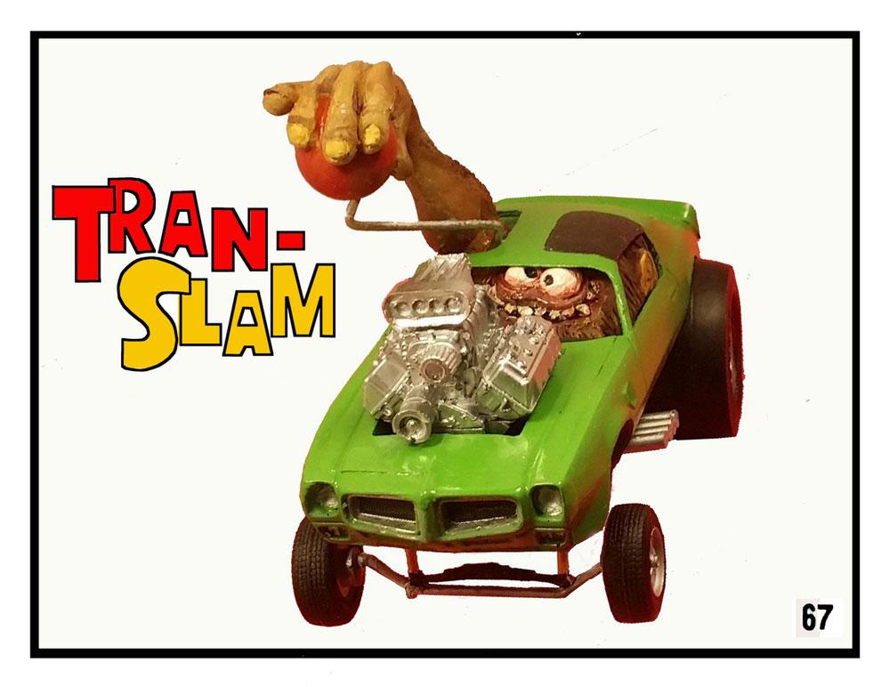 Trans Slam 1/24 Scale Hot Rod Model Kit Trans Slam 1/24 Scale Hot ...