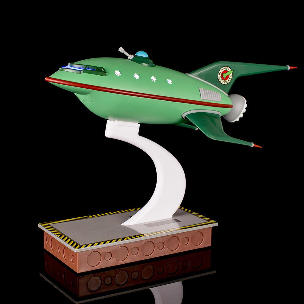 Futurama Planet Express Spaceship Master Series Replica - Click Image to Close