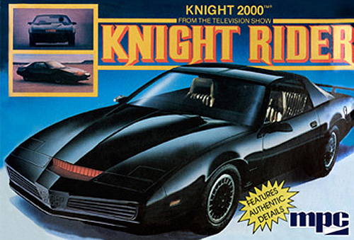 Knight Rider KITT 1982 Pontiac Firebird Plastic Model Kit by MPC