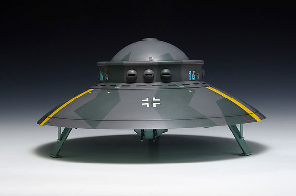Fu Fighter WWII German 1/72 Flying Saucer Haunebu Type Model Kit
