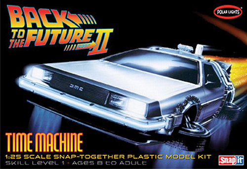 Back to The Future (Part II) 1:25 Scale Time Machine Delorean Model Kit