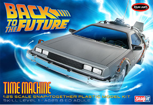 Back to The Future (Part I) 1:25 Scale Time Machine Delorean Model Kit