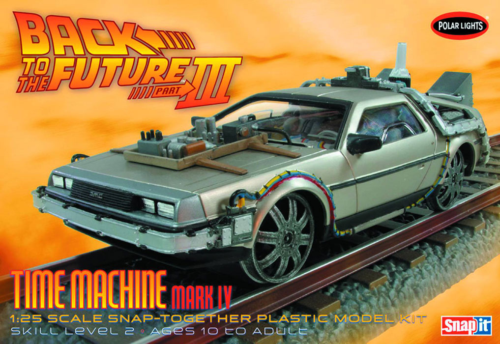 Back To The Future III Final Time Machine Snap-Fit Model Kit