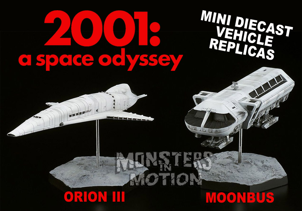 2001: A Space Odyssey Orion III & Moonbus Vehicle Replicas