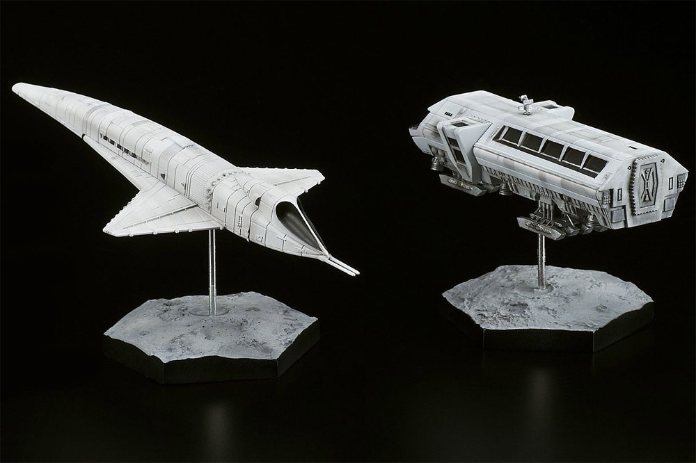 2001: A Space Odyssey Orion III & Moonbus Vehicle Replicas NEW!