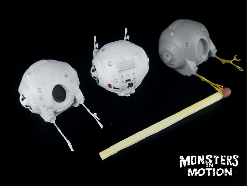 2001: A Space Odyssey 1/144 Scale Eva Pod Upgrade Set for Moebius Discovery XD-1 Model Kit by Green Strawberry