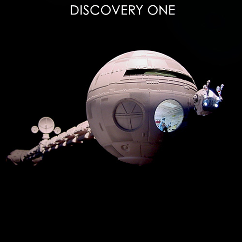 2001: A Space Odyssey Discovery 1:144 Scale Light Kit for Moebius Model Kit