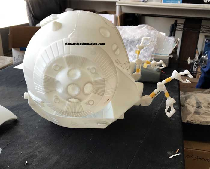 2001: A Space Odyssey EVA Pod 1/8 Scale Model Kit Moebius - Click Image to Close