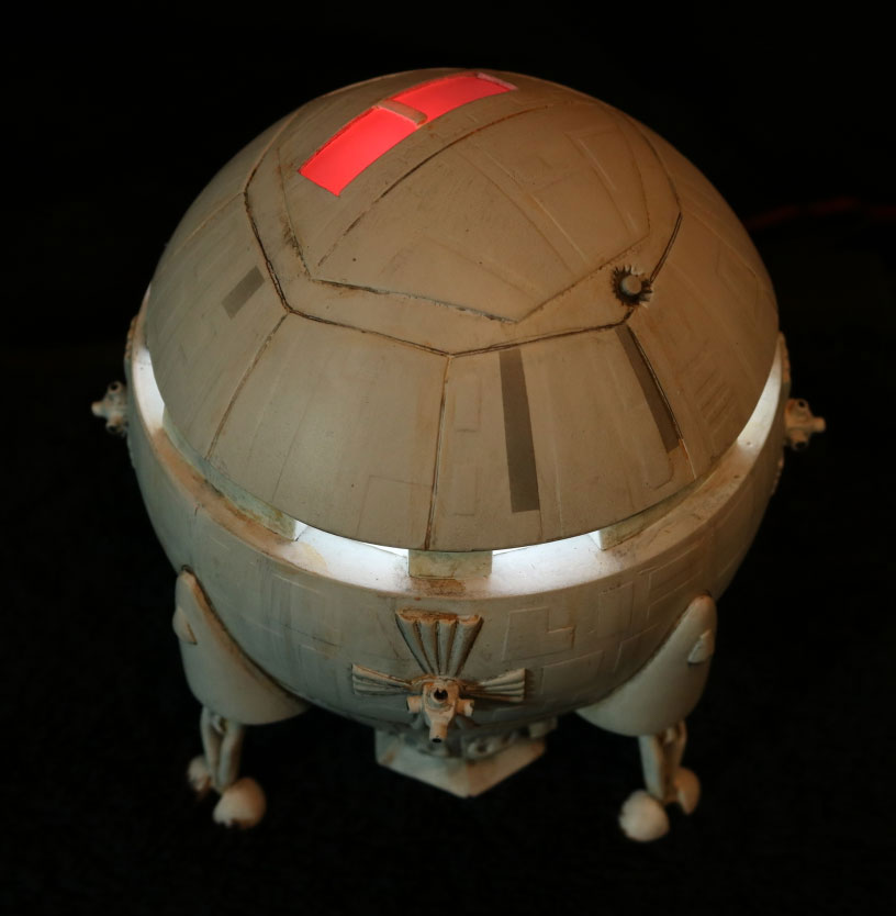 2001: A Space Odyssey Aries-1B 1/144 Scale Model Kit (Deluxe Version with Lights)