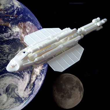 "Space 1999 Altares Lightship Spaceship 11"" Resin Model Kit"