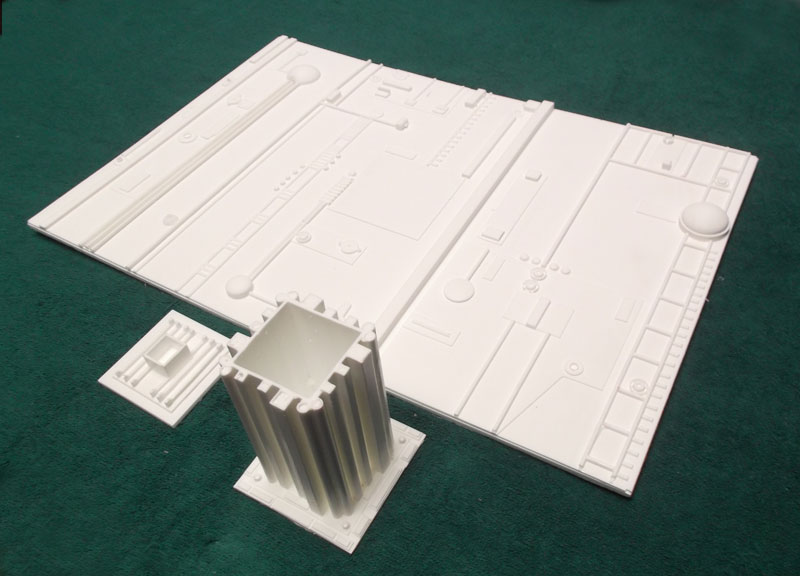 Space 1999 Darian Spaceship Docking Area for 1/72 Eagle Model Kit