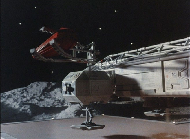 "Space 1999 Eagle Transporter 22"" Long 1/48th Scale Model Claw Arm, Escape Pod and The Fuel Tank Accessory Set"