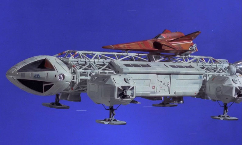 "Space 1999 Eagle Transporter 22"" Long 1/48th Scale Glider Model Kit"