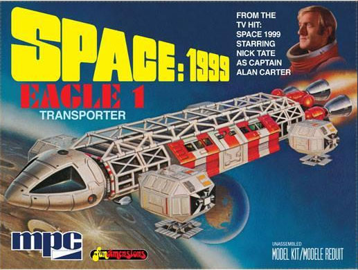 Space 1999 Eagle-1 Transporter 1/72 Scale Model Kit MPC Re-Issue
