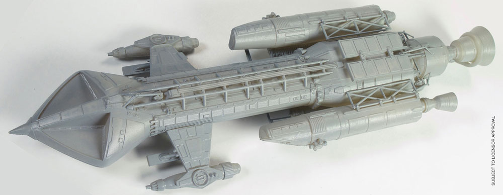 Space 1999 Hawk Spaceship 1/72 Scale Model Kit Re-Issue