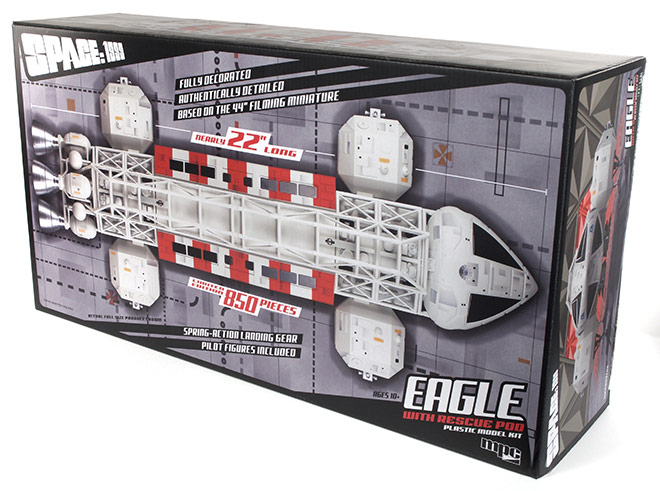 Space 1999 Rescue Eagle 1/48 Scale Finished Display Model LIMITED TO 850