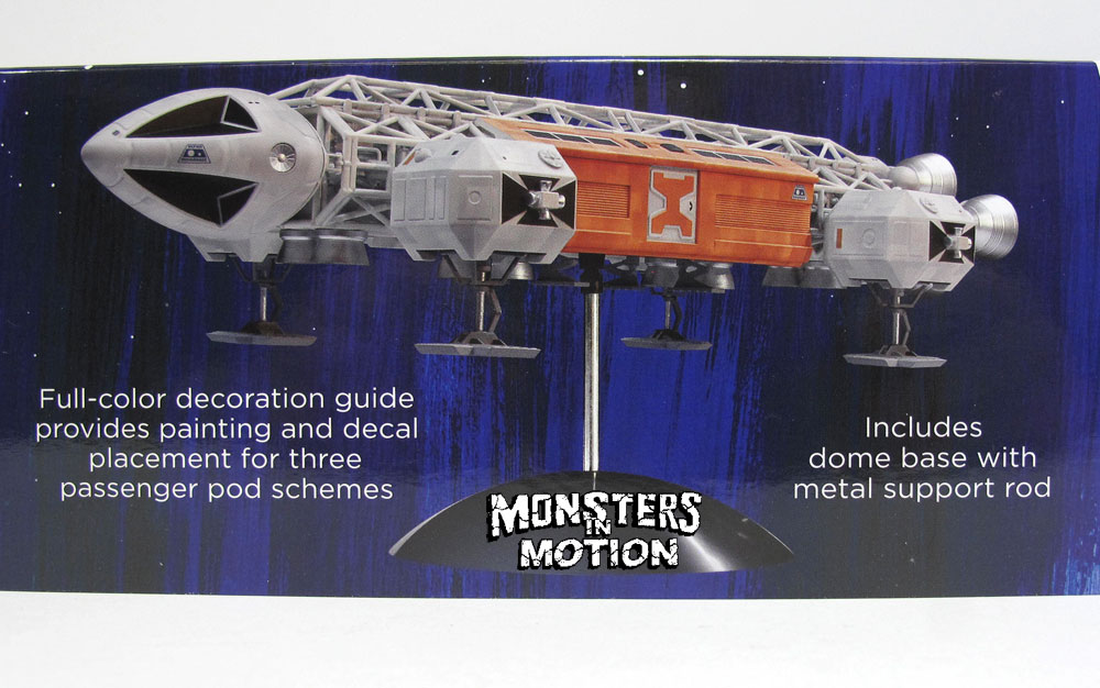 "Space 1999 Eagle II Transporter 1/72 Scale 14"" Model Kit"