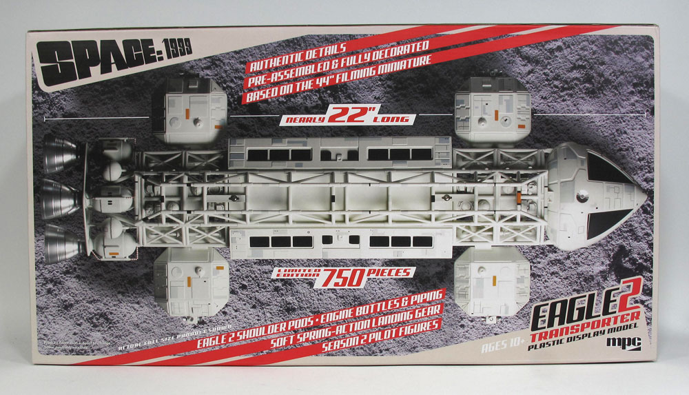 "Space 1999 Eagle II Transporter 22"" 1/48 Scale Finished Display"