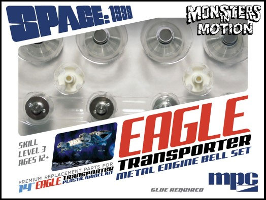 Space 1999 Eagle METAL 1/72 Scale Engine Bells Upgrade Set
