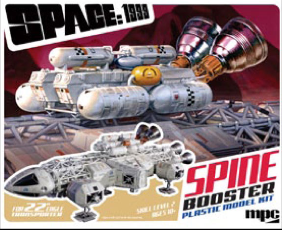 "Space 1999 1/48 Scale 22"" Eagle Booster Pack Accessory Model Kit"