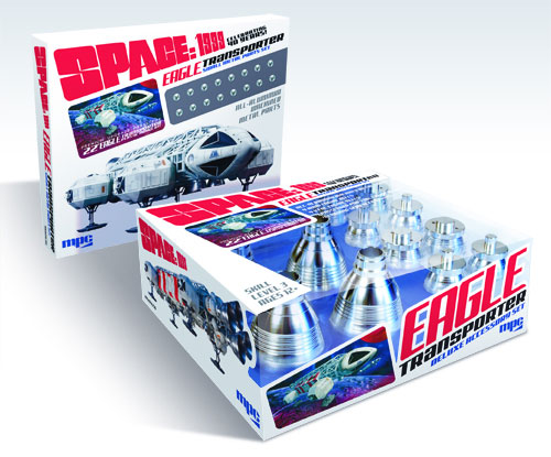 "Space 1999 Eagle Transporter 22"" Long 1/48th Scale Deluxe Accessory Set #1 (Large Metal Parts)"