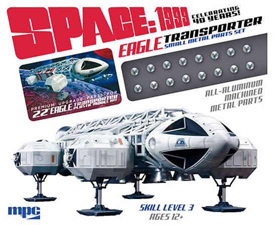"Space 1999 Eagle Transporter 22"" Long 1/48th Scale Accessory Set #2 (Small Metal Parts)"