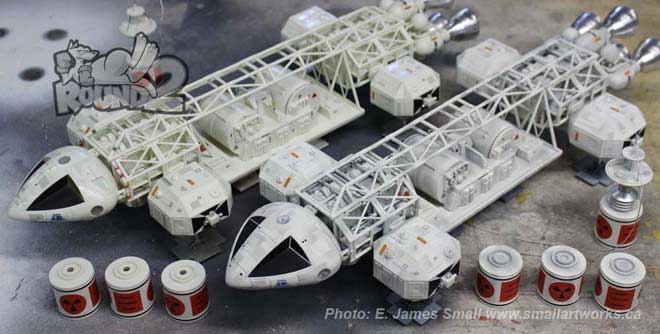 "Space 1999 Eagle Transporter Cargo Pod 22"" Long 1/48th Scale Model Kit MPC"