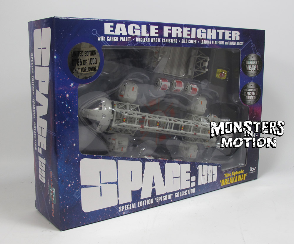"Space 1999 Eagle Freighter 12"" Die Cast Set 1: Breakaway by Sixteen 12"
