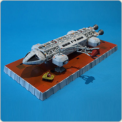 "Space 1999 Eagle Transporter 12"" Die Cast Set 3: The Exiles by Sixteen 12 - Click Image to Close"