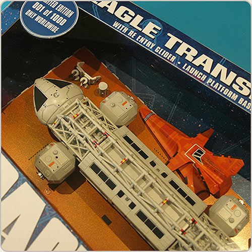 "Space 1999 Eagle Transporter 12"" Die Cast Set 2: Immunity Syndrome by Sixteen 12"