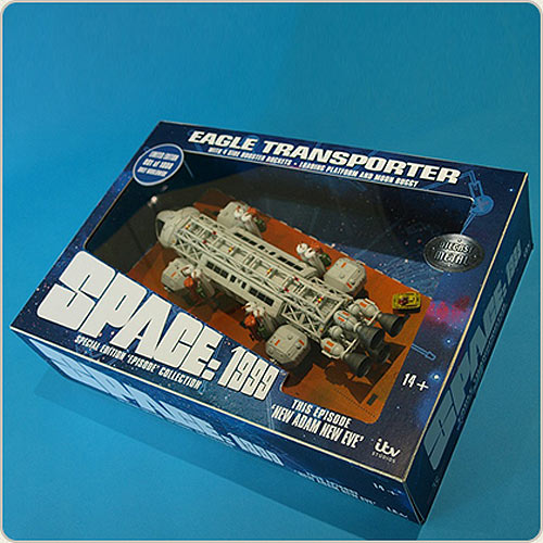 "Space 1999 Eagle Transporter 12"" Die Cast Set 4: New Adam New Eve by Sixteen 12"