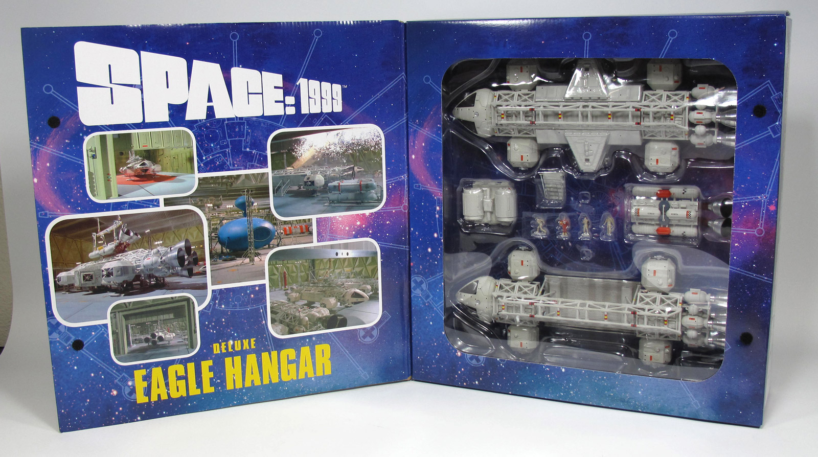 "Space 1999 Moonbase Alpha 12"" Eagle Hangar Set Ultra Deluxe Special Edition by Sixteen 12"
