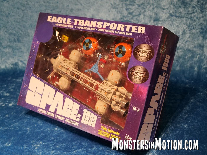 "Space 1999 Eagle Transporter 12"" Die Cast Set 5: Collision Course by Sixteen 12"