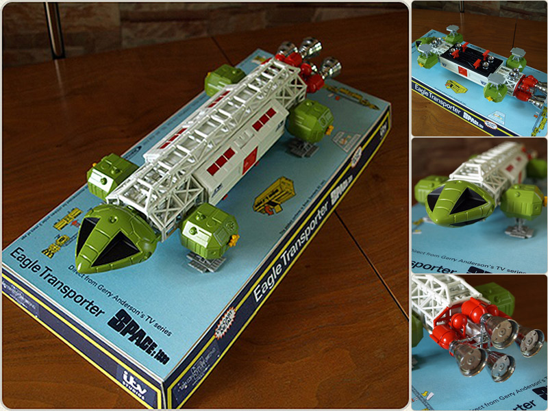 Space 1999 Eagle Transporter Dinky Retrospective Toy LIMITED EDITION OF 500