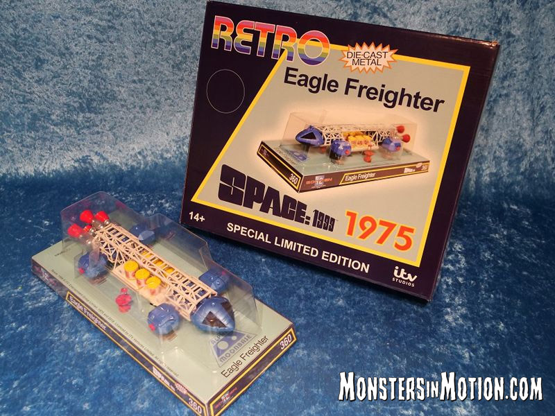 "Space 1999 Eagle Freighter Dinky Retro 12"" Replica LIMITED EDITION of 1000"
