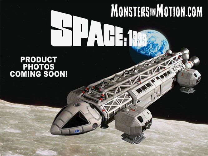 "Space 1999 Infernal Machine 12"" Diecast Eagle Transporter with 2 Alpha Defense Laser Tanks Deluxe Set"