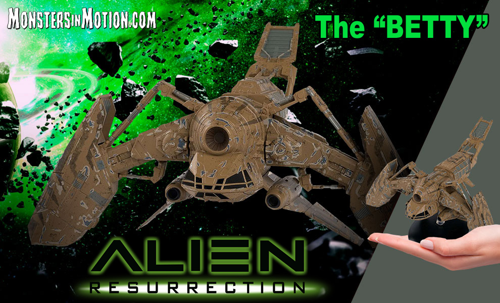 Alien Resurrection The Betty Spaceship Replica