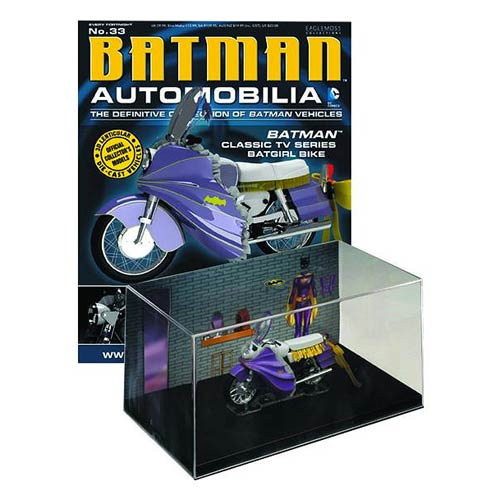 Batman Classic 1966 TV Series Batgirl Bike with Collector Magazine